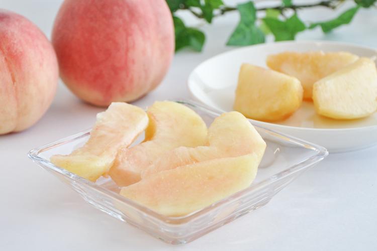 桃の食べ方(皮のむき方)